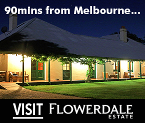 Flowerdale Estate only 90mins from Melbourne